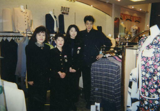 DEUXの店長だったときは25歳でした