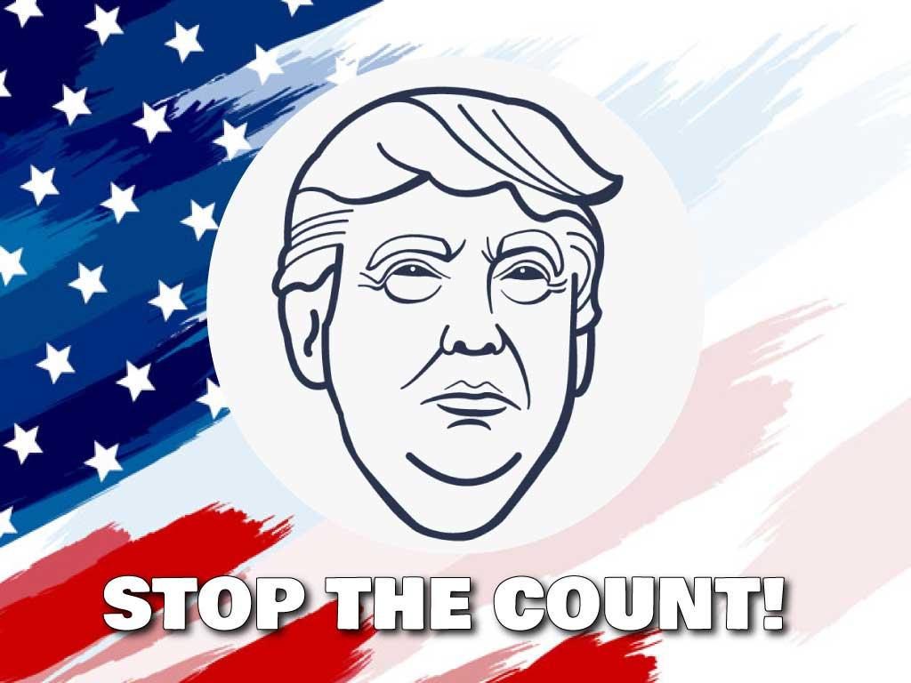 大統領選2020 カウントをやめろ!